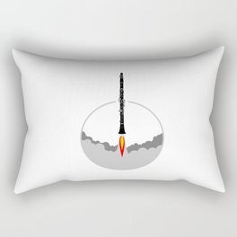 Clarinet Rocket Rectangular Pillow