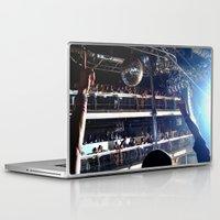 deadmau5 Laptop & iPad Skins featuring Deadmau5 - Terminal 5 NYC by detopics