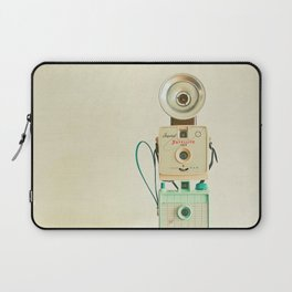 Tower of Cameras Laptop Sleeve