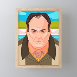 Tony Soprano Framed Mini Art Print