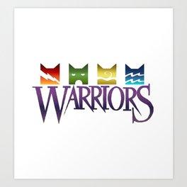 Warrior Cats Logo Art Print