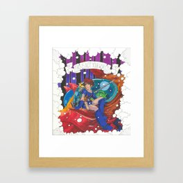 Nausicaa and the Valley of the Wind Framed Art Print