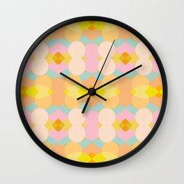Balance Summer Shapes Wall Clock