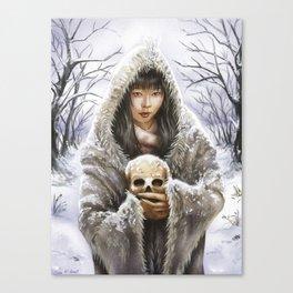"""YUKI ONNA"" Canvas Print"