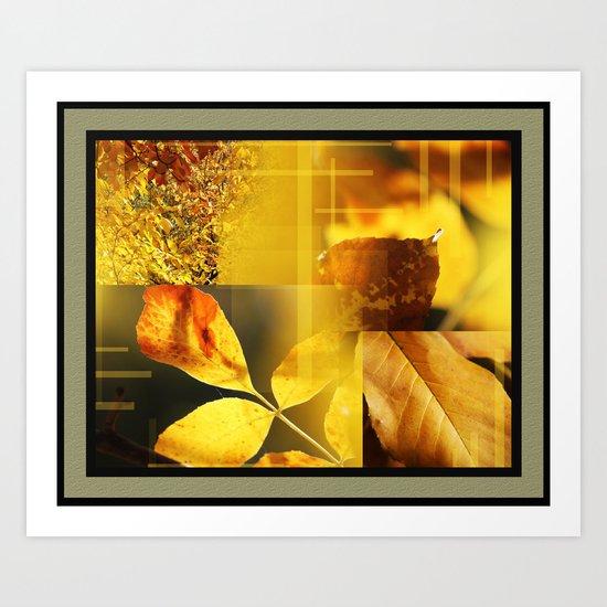 Yellow Leaves 2 Art Print