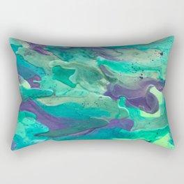 Green Rule Rectangular Pillow