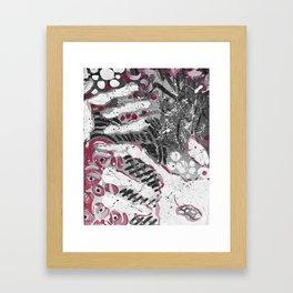 Hand Prints Framed Art Print