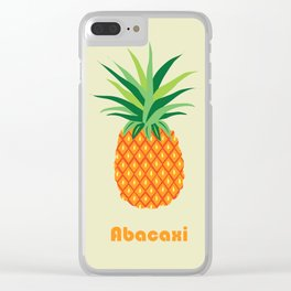 AFE Pineapple Clear iPhone Case