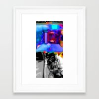 apollo Framed Art Prints featuring Apollo  by Davey Charles