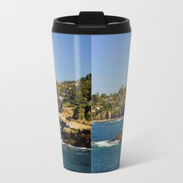 Lazy Day in La Jolla Travel Mug