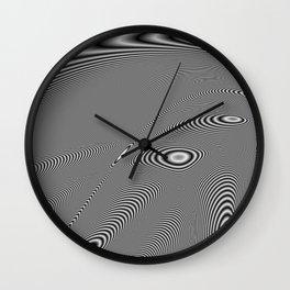 Fractal Op Art 5 Wall Clock