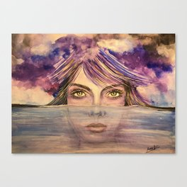 Storm Is Coming.. Canvas Print