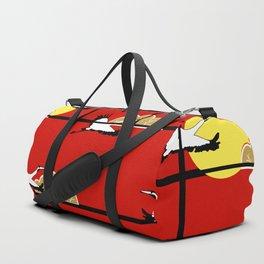 Flying cranes Duffle Bag