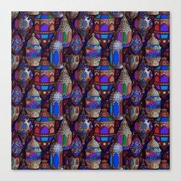 Lanterns of Morocco Canvas Print