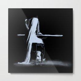 Jazz pianist Metal Print