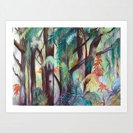 My Jungle Art Print