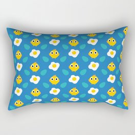 Chicken Egg pattern #1 Rectangular Pillow
