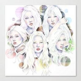 A Five Color Theorem Canvas Print