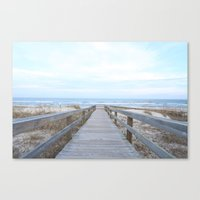 wooden Canvas Prints featuring Wooden by AbstractCreature