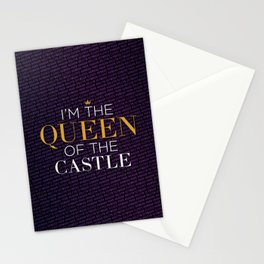Queen of the Castle – Six the Musical Stationery Cards