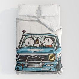 Crazy Car Art 0144 Comforters