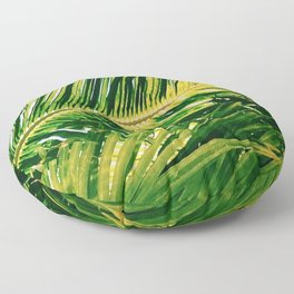 Isla Palm Floor Pillow