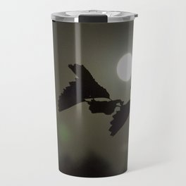 By the light of the full moon Travel Mug