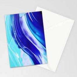 paint stroke Stationery Cards