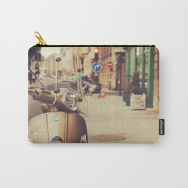 Vespa in Paris Carry-All Pouch