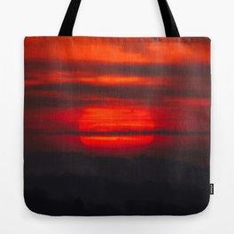 Sunset At Virginville, Pennsylvania Tote Bag