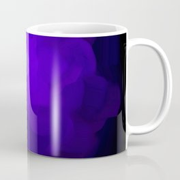 Glowing Blue Rose Emerging from  Darkness Coffee Mug