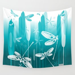 CN DRAGONFLY 1014 Wall Tapestry