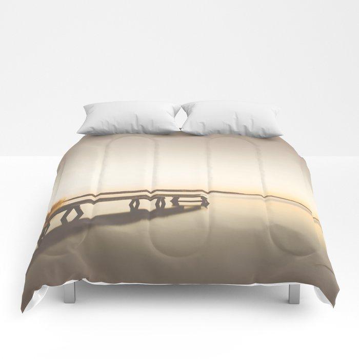Summer bleech Comforters