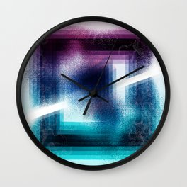 """Prisim"" by Justin Hopkins Wall Clock"