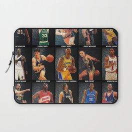 Basketball Legends Laptop Sleeve