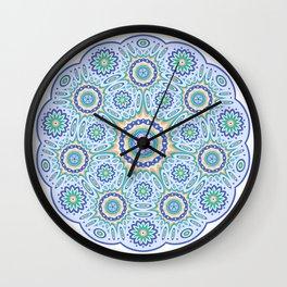 Geometric ornament Wall Clock