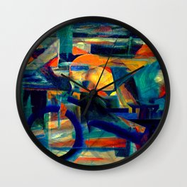 Café Racer Wall Clock