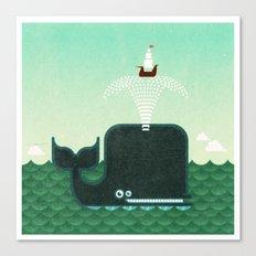 Whale, whale, whale... Canvas Print