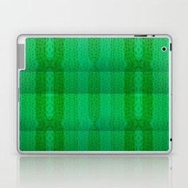 Greenish pattern of borders .. Laptop & iPad Skin