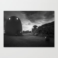 That group of monsters Canvas Print