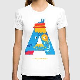 A is ABRAKADABRA T-shirt