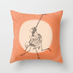 In The Devil's Snare (One) Throw Pillow