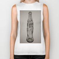 coca cola Biker Tanks featuring Coca-Cola by Lily Patterson