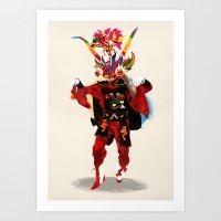 diablo Art Prints featuring diablo by Alvaro Tapia Hidalgo