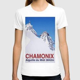 Chamonix ski T-shirt