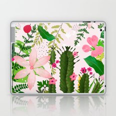 pink desert flowers Laptop & iPad Skin