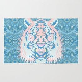 Pastel Quartz Tiger Rug