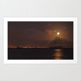 """Full Moon 2"" Art Print"