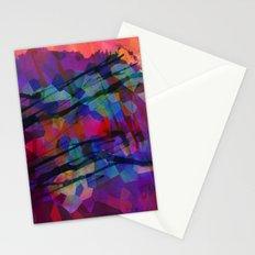 Pixel Splatter Stationery Cards