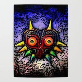 Majoras Mask Fan Art Poster